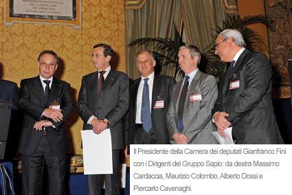 Premio sapio per la ricerca italiana for Camera dei deputati italiana